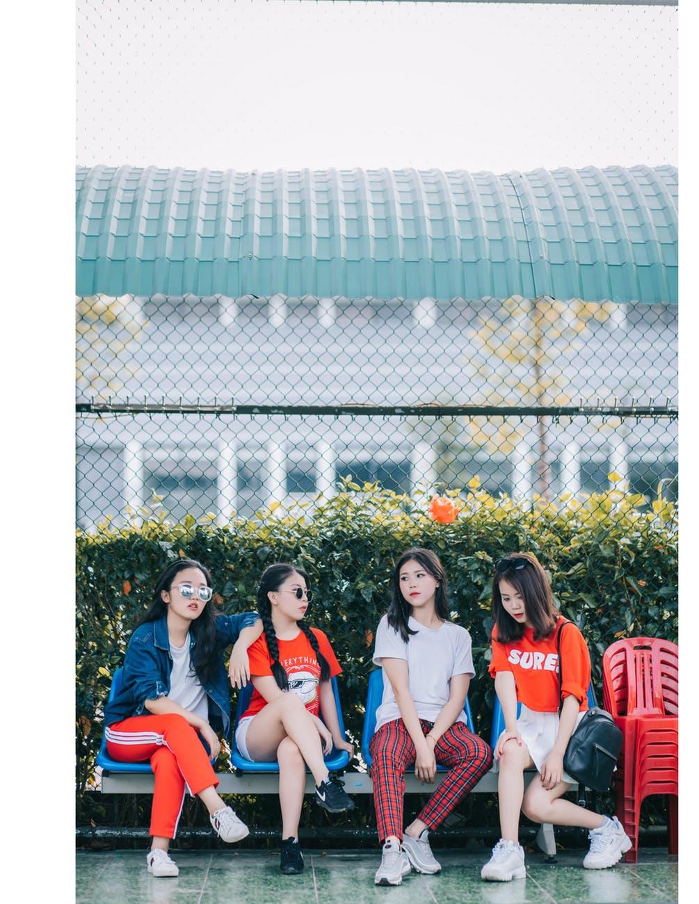 Trendsetter Fashion beinhaltet auch Asien